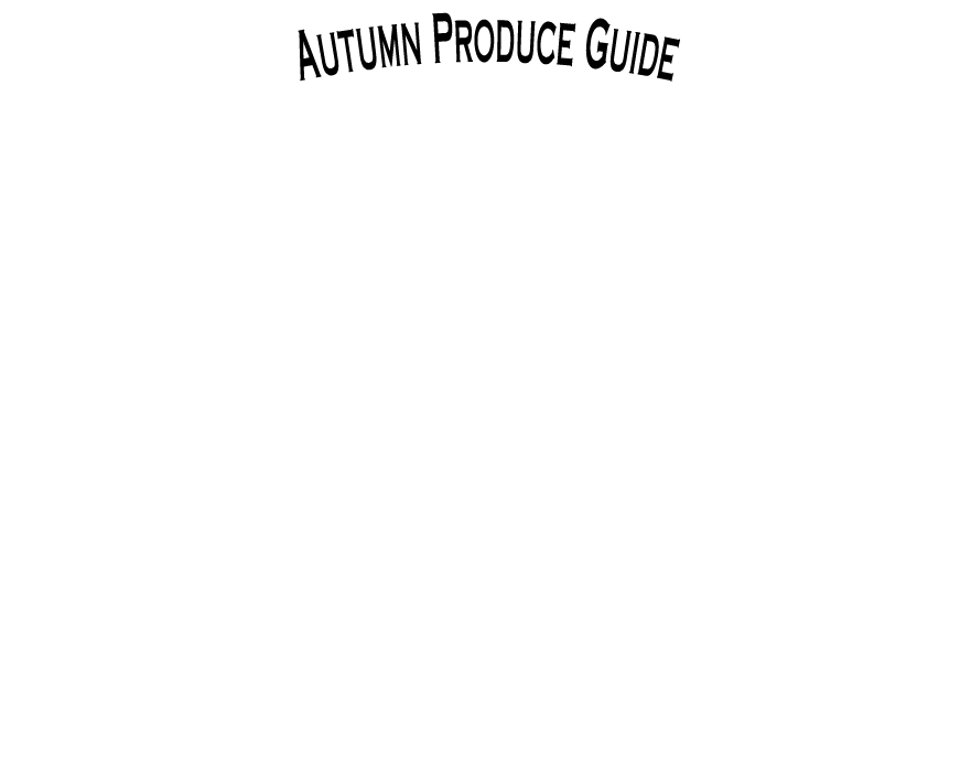 The Produce Wholesaler Autumn Seasonal Guide