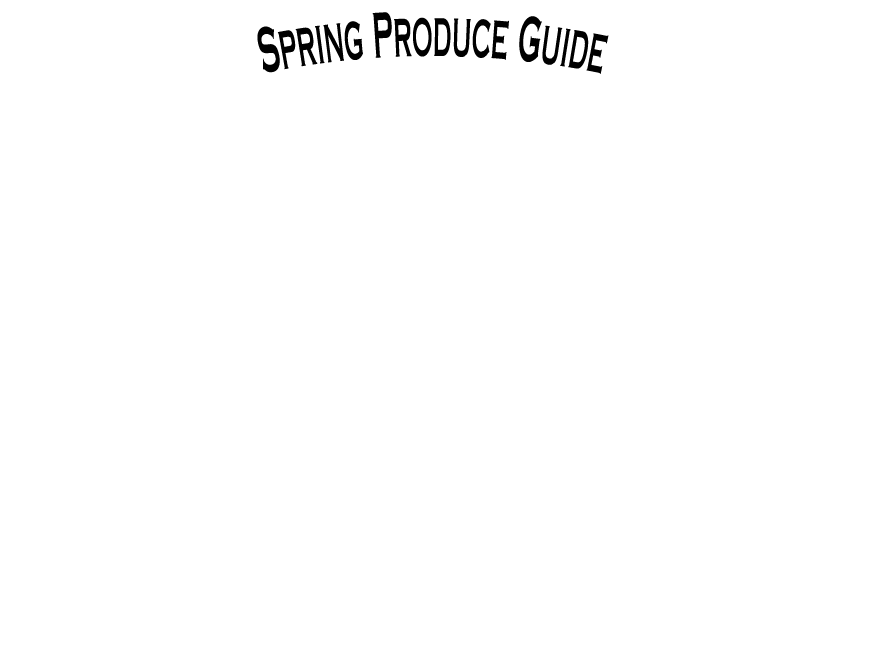 The Produce Wholesaler Spring Seasonal Guide